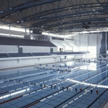 Mäkelänrinteen uintikeskus, Helsinki 1998